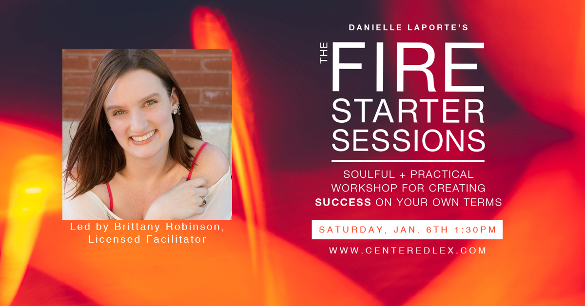 The Fire Starter Sessions Workshop (Lexington, KY, USA)