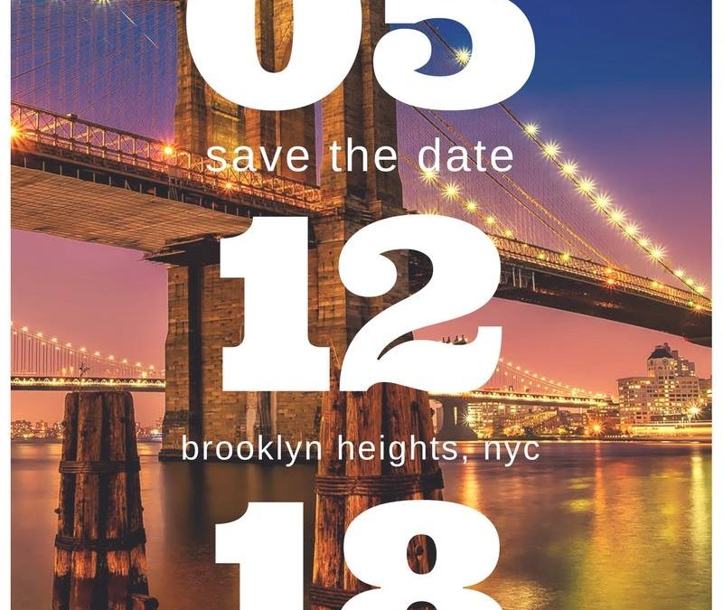 Save the Date: NYC Workshop Coming Soon (New York City, NY, USA)